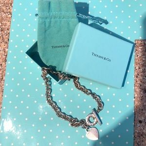 Tiffany and co necklace. Comes with original box